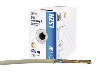 UTP kabel CAT 6 LSZH EMOS 305m