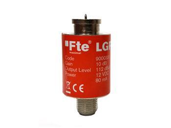 Zesilovač FTE LG100 10dB/94 dBuV, 12-24V pro DVBT