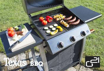 Gril plynový G21 Texas BBQ 3 hořáky + zdarma redukční ventil