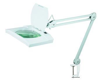 Lupa stolní obdélník ( svorka ) 5diop. LED(108x)