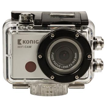 Akční Full HD kamera Konig CW100 1080p, vodotěsná, WiFi