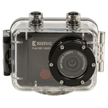 Akční Full HD kamera Konig C300 1080p, vodotěsná