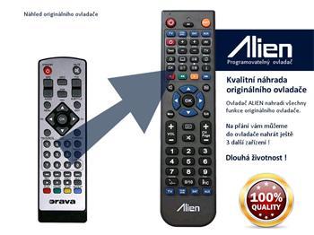 Dálkový ovladač ALIEN Orava DVB13A