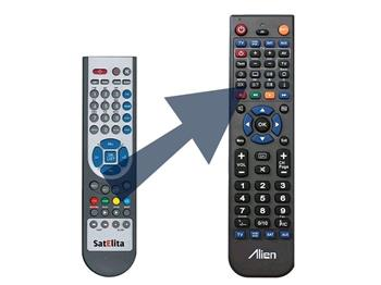 Dálkový ovladač ALIEN SatElita 2000 HD