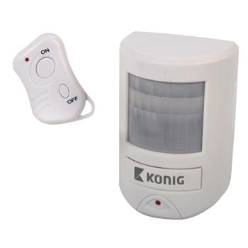 Detektor pohybu s alarmem 130 dB