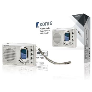 FM Rádio Konig PR23 přenosné