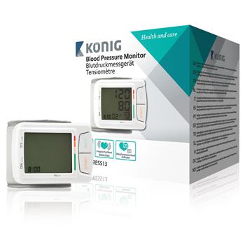 Měřič krevního tlaku KONIG 13 automatický na zápěstí