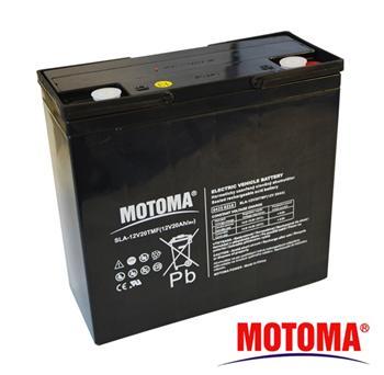 Baterie olověná 12V/20Ah - Trakční MOTOMA bezúdržbový akumulátor