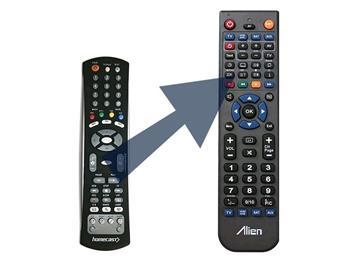 Homecast dálkový ovladač 3200 IR, CIIR, HS 2100 - náhrada
