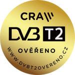 certifikát DVBT2 ověřeno