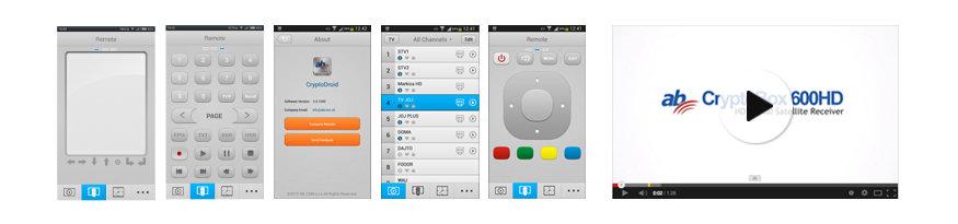G-MScreen aplikace pro AB CryptoBox