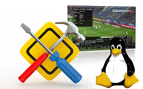 Instalace software do přijímače s OS Linux