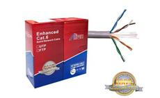 UTP kabel CAT 6E CCA ALIEN 0.56mm 100m